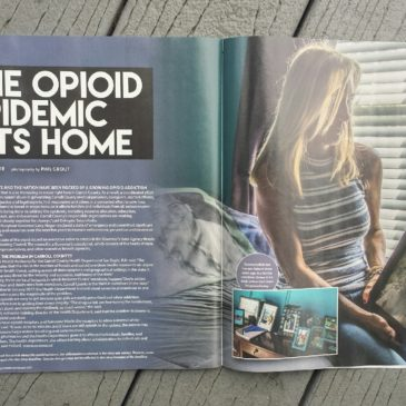 "Carroll Magazine: ""The Opioid Epidemic Hits Home"" by Sylvia Blair"