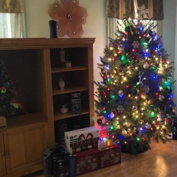 Christmas at Reclaiming My Life Sober Home