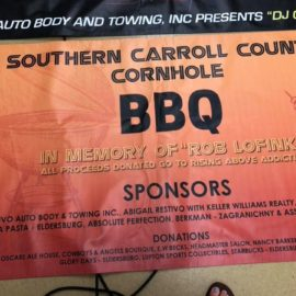 Cornhole Barbecue In Memory of Rob Lofink