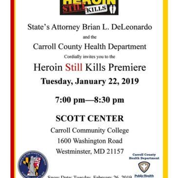 Heroin Still Kills Premiere – WATCH HERE